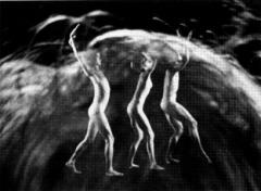 Film with three dancers